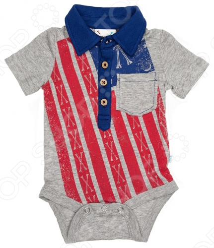 заказ Боди Fore!! Axel and Hudson Born in U.S.A Onesie онлайн