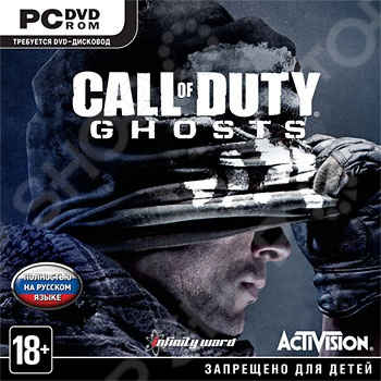 заказ Игра для PC Call of Duty Ghosts (PC-DVD, Jewel) онлайн