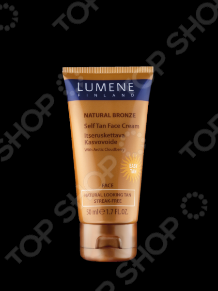 заказ Крем-автозагар для лица Lumene Natural Bronze онлайн